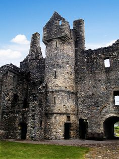 Another view of the Balvenie Castle, Scotland