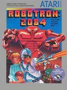 Robotron 2084 - Atari 5200 cartridge