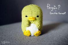 Ravelry: Penguin? - Sumikko Gurashi pattern by DreamDraw Love