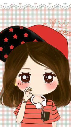Kawaii Chibi, Cute Chibi, Kawaii Cute, Kawaii Girl, Anime Chibi, Cute Couple Cartoon, Anime Love Couple, Girl Cartoon, Cute Cartoon