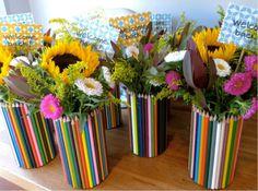 Чтобы удивить и обрадовать человека, не нужно многого. Достаточно сделать красивый и полезный подарок своими руками на день рождения. Маме сделать вазу из карандашей, бабушке - вышитую скатерть.