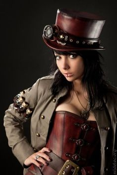 steampunk - hat & arm holster