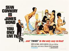 "Movie Posters:James Bond, You Only Live Twice (United Artists, 1967). British Quad (30"" X40"") Style C.. ..."