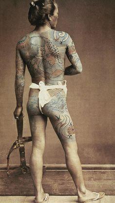 Japanese samurai tatoos