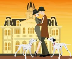 Disney Doodles: Roger & Anita Break Away From The Pack « Disney Parks Blog