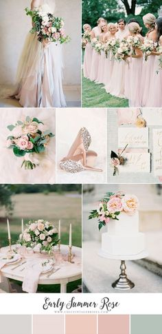 Early Summer Rose - Romantic Wedding Inspiration in the Softest Shades of Pink