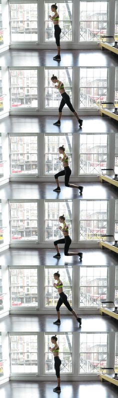 5 leg-toning exercises with Karlie Kloss.