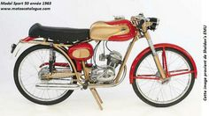 1963 Demm (Italy) 49cc Sport (beautiful).