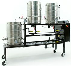 The Brew-Magic �Pilot Brewery design is quite special. Repeatable small batch brewing is difficult because damages to the wort and grain happen easily when temperature controls, wort handling and brewer enthusiasm can produce subtle variables with each brewing session.