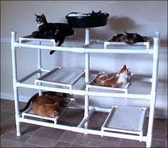 Resultado de imagem para pvc diy cat hammock
