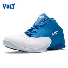 VOIT Men's Basketball Shoes High-Tech Anti-Skid Athletic Basketball Boots Breathable Outdoor Basketball Sneaker Traning Shoes