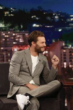 Jamie and his beautiful smile 😍😍❤❤❤ Good morning sweeties 😘 and a happy Wednesday 😘😘❤ Fifty Shades Darker, 50 Shades Of Grey, Jamie Dornan Interview, Paul Spector, Jamel, James Patrick, Irish Men, Christian Grey, Nice To Meet