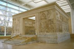 Ara Pacis Augustae (Altar of Augustan Peace), 9 B. Rome Itinerary, Digital Story, Roman Architecture, Travel Route, Roman Art, Rome Travel, Archaeological Site, Roman Empire, Christianity
