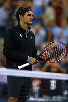 Roger Federer Photos: 2014 U.S. Open - Day 11