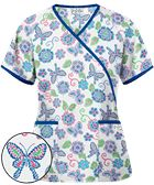 You're sew ready for this fun floral top! The UA Floral Stitchery White Print Scrub Top and more fun floral scrubs are here at Uniform Advantage! White Scrub Tops, Uniform Advantage, Scrubs, Floral Tops, Men Casual, Mens Tops, Cart, Shopping, Women