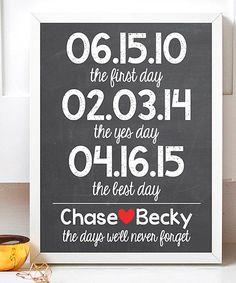 chalkboard special dates