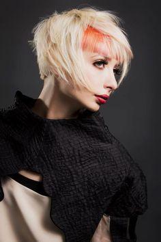 Stelios Papas City Salon / Model - Renee / Stylist- Tim Dicarlo /Colourist - Erin Gibson / Makeup - Kayreen Lemarchant / Fashion Stylist - Tamzen Holland / Photographer - Elizabeth Grinter