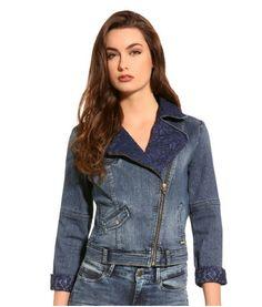 Veste jeans femme guess