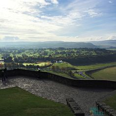 Could this view from Stirling Castle be more stunning? And yes, I took this picture - it's real, which is hard to believe because it's so beautiful. This is just a taste of the scenery that Scotland has to offer.