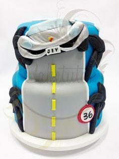 Caketutes Cake Designer: Bolo Carro - Car Cake