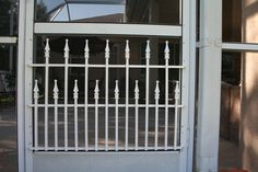 Screen Door Grille, Cottage Collection, Decorative, Protective, Mini Bungalow Style, Aluminum, custom sizes available