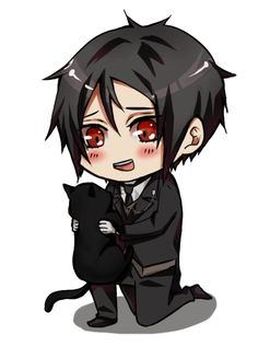 Another Cute Sebby Gone Chibi >_