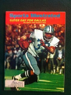 This vintage Sports Illustrated was issued on January 24, 1972 and features Duane Thomas as its cover subject or main story. Description from cowboysfootballdeals.com. I searched for this on bing.com/images