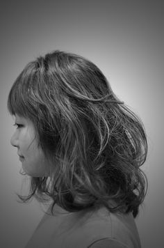 midium hair