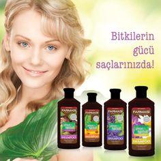 Farmasi Pure Herbal Shampoo bitkilerin gücünü saçlarınıza taşıyor!