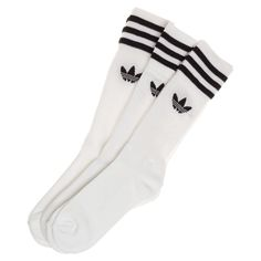 Complete your sports luxe look with adidas tube socks.
