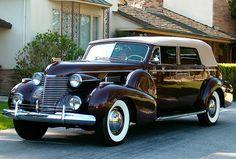 Cadillac Series 75 Fleetwood Convertible Sedan  1940