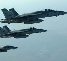 جنگنده+های+ائتلاف+بین+المللی+مواضع+داعش+در+سوریه+را+بمباران+کردند
