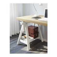 IKEA - TORNLIDEN / FINNVARD, Pöytä, mäntyviilu/valkoinen,