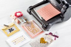 Wonderful Valentine's day cards, gift bags and more!  All made with our do-it-all Big Shot  Die-Cutting Machine. #valetines2015