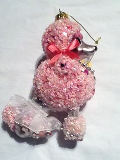 Frenchy The Pink French Poodle Christmas Tree Ornament | French ...