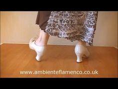 Flamenco Footwork Tutorial for Tientos or Tangos - YouTube