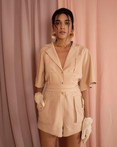 Jessica K Online Shop - Fresh & Modern Womenswear Label Sporty Chic, Overalls, Women Wear, Feminine, Spring Summer, Platform, Rompers, Beige, Shirt Dress