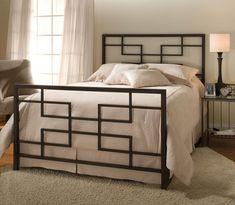 The classy home lets you have your choice in these astonishing selection of metal beds. Choose the right metal bed for your bedroom with us at the classy home. Iron Furniture, Modern Bedroom Furniture, Steel Furniture, Furniture Design, Bedroom Decor, Modern Bedrooms, Furniture Showroom, King Furniture, Men Bedroom