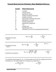 Ap Psychology Stats Worksheet Worksheets Are A Crucial Portion Of Gaining Knowledge Of English Infant In 2021 Statistics Symbols Statistics Math Business Statistics