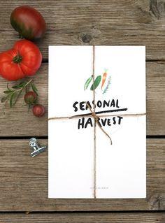 2013 Seasonal Harvest Calendar ++ Redcruiser