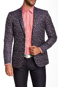Stein Tonning Printed Blazer by Moods Of Norway on @HauteLook