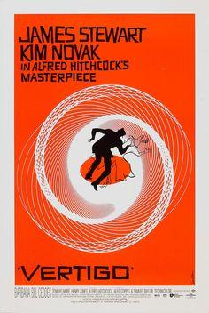 "Movie Poster of the Week: Alfred Hitchcock's ""Vertigo"" on Notebook | MUBI"