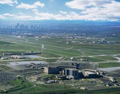 Calgary International Airport.  Lear 24 charter.