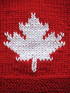 Canadian Maple Leaf Coasters for Canada Day! The Effective Pictures We Offer You About fair isle kni Canadian Things, I Am Canadian, Knitting Charts, Knitting Patterns, Crochet Patterns, Knitting Machine, Crochet Ideas, Free Crochet, All About Canada