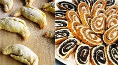 Karácsonyi süti receptek Cookies, Desserts, Food, Tailgate Desserts, Biscuits, Deserts, Essen, Dessert, Cookie Recipes