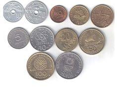 Tipo de monedas griegas