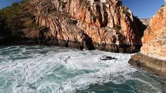 Broome's 'Big Ticket' item, the amazing Horizontal Falls.  One for the bucket list.