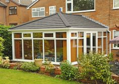 Evans Windows - Innovative Conservatory Tiled Roofing