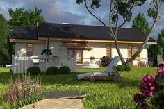 DOM.PL™ - Projekt domu ARC Skowronek z garażem CE - DOM AR1-11 - gotowy koszt budowy Gazebo, Pergola, Outdoor Structures, Outdoor Decor, Case, Home Decor, Kiosk, Decoration Home, Room Decor