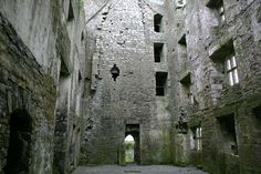 Leamaneh castle, the Burren, Co Clare, Ireland – MR